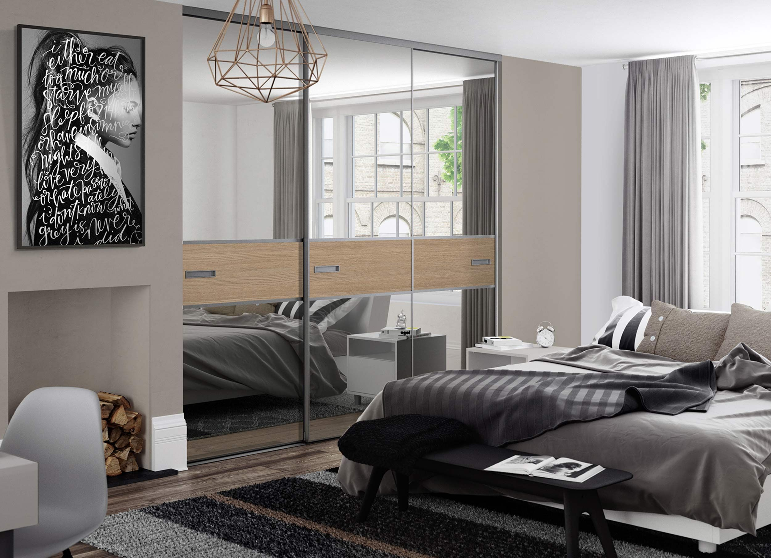 3 panel mirrored sliding closet doors - Spaceslide Is The Uk S Number 1 For Made To Measure Sliding Wardrobe Doors And Interiors As Well As Fitted Wardrobes Sliding Doors And Bedroom Furniture