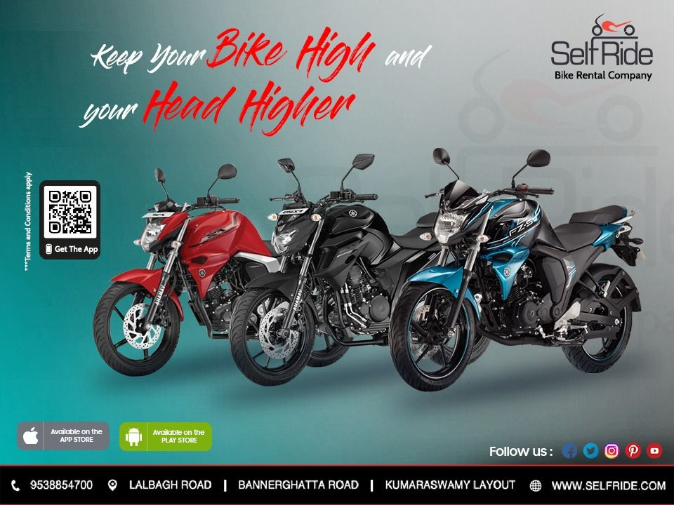 Experience The Bike Riding With Selfride Bike Rentals In