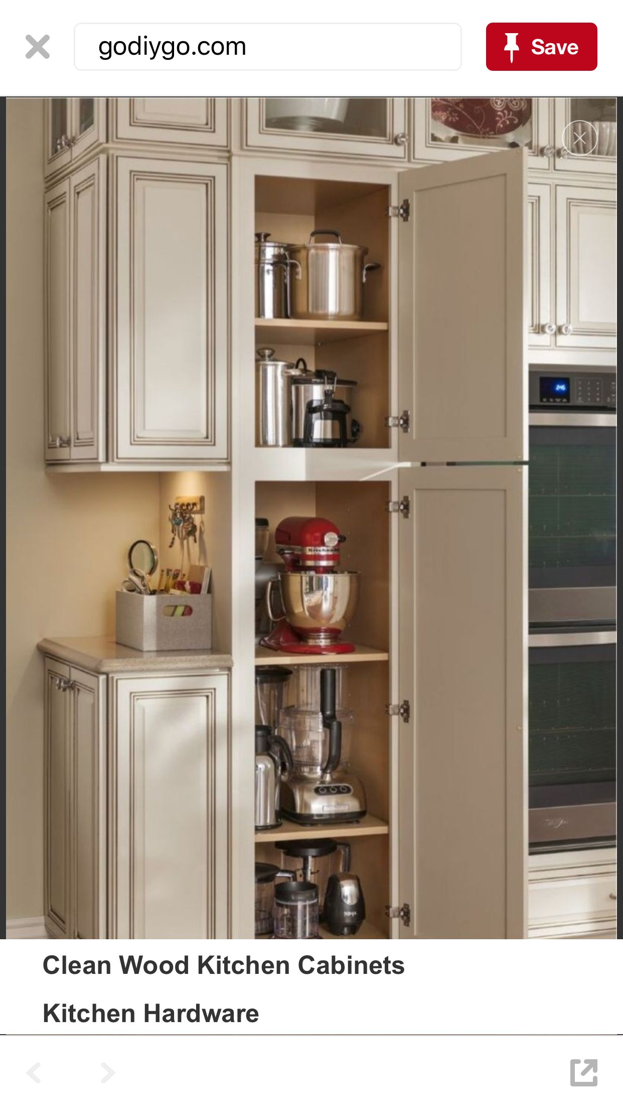 Utility Kitchen Cabinet Cabs For Appliances Kitchen Dining Rooms In 2019