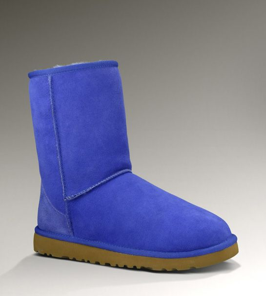 0306535ab4d UGG Classic Short Boots Style in Deep Periwinkle  154.95