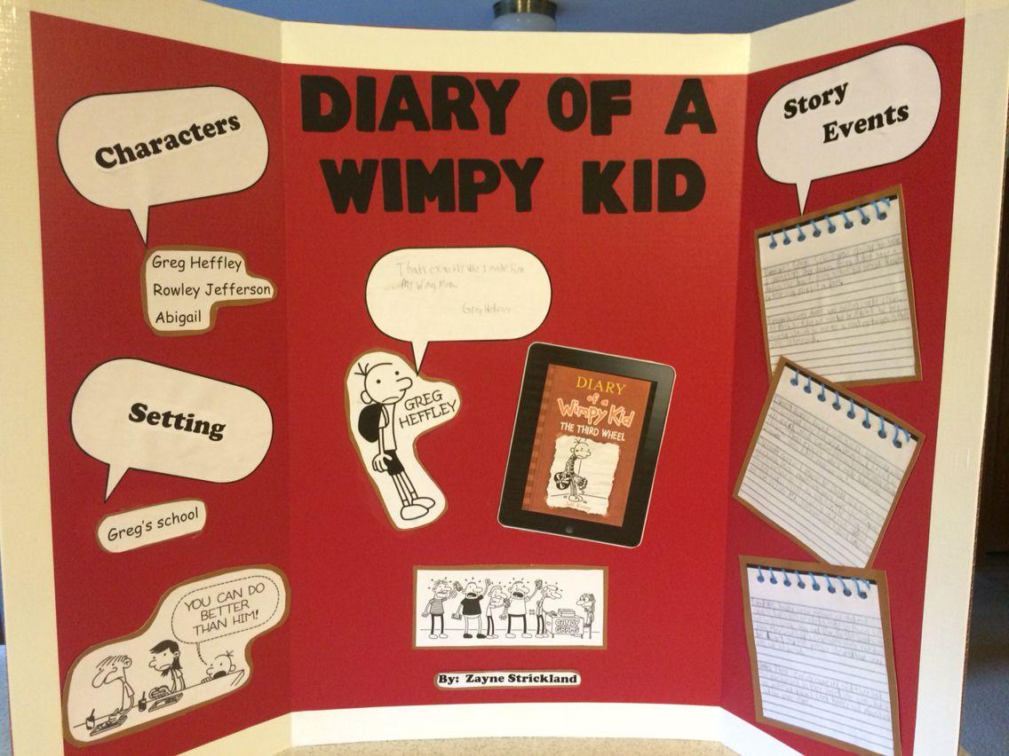 Diary Of A Wimpy Kid Literature Science Fair Ideas Pinterest