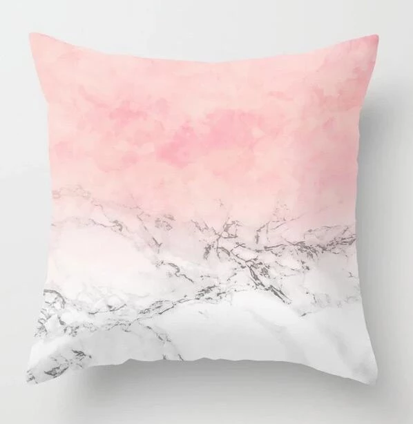 42cm Rose Flower Throw Pillow Cushion Case Cover Home Sofa Bed Decor 10 Colors