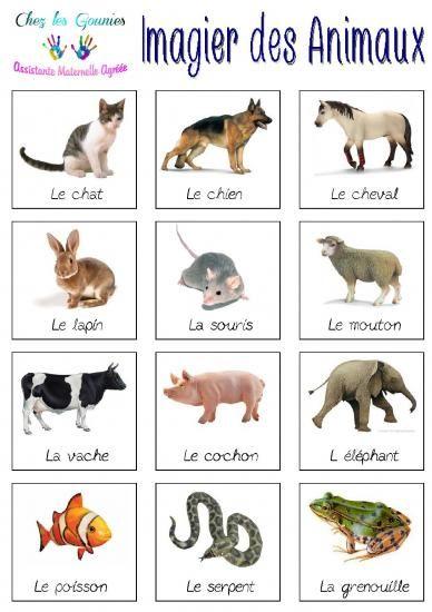 Imagiers animaux lexique et cat gorisation s mantique idiomas et idioma franc s - Images animaux a imprimer ...