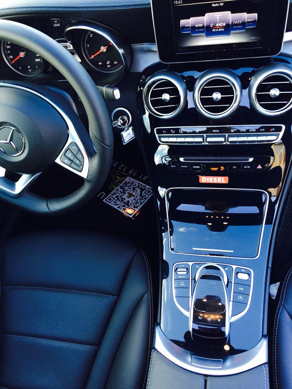 Volant et console intérieur classe C 220 | Mes voitures (Mercedes ...