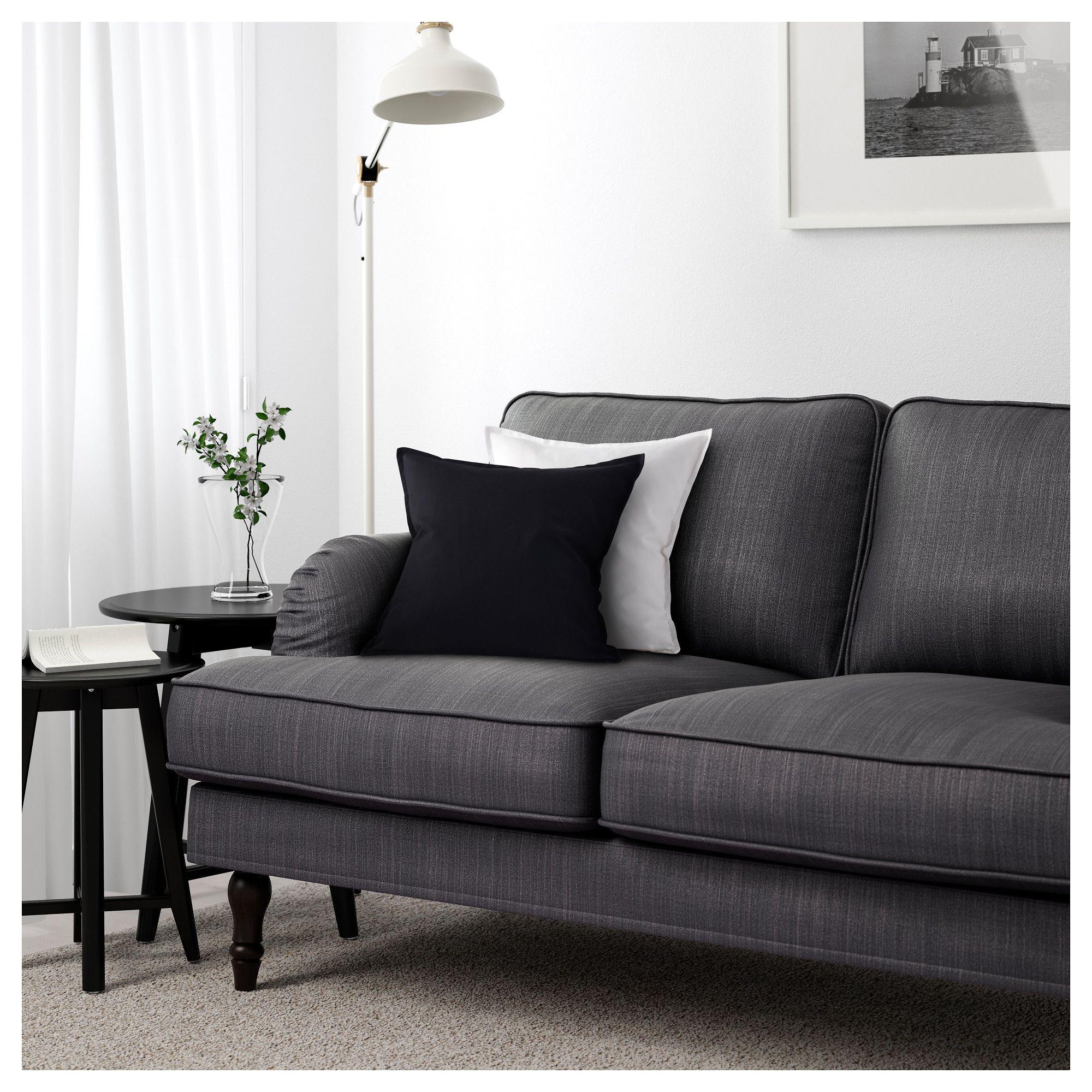 IKEA STOCKSUND Three Seat Sofa 10 Year Guarantee Read About The Terms In Brochure