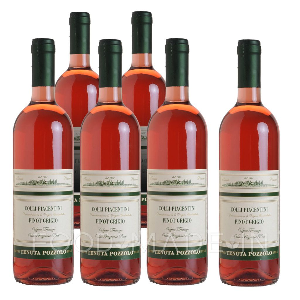 Colli Piacentini Wine Made Vinifying At 100 The Very Precious Grapes Of Pinot Grigio Doc Of Our Vineyards In The Hills Of Ziano Piacentino I Vino Rosado Vinos