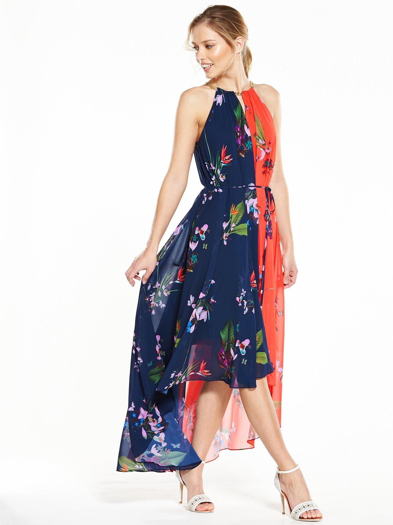 183c239768 Ted Baker Floral Printed Dress Make sure you re top of the best-dressed