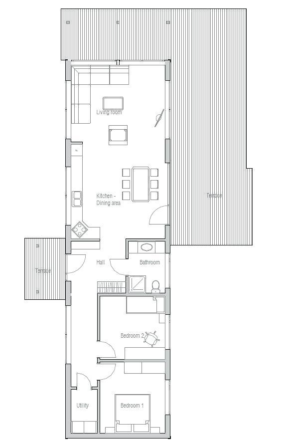 Pin Oleh Cikidi Papap Di Home Plans Denah Rumah Kecil Denah Rumah Rumah Kecil