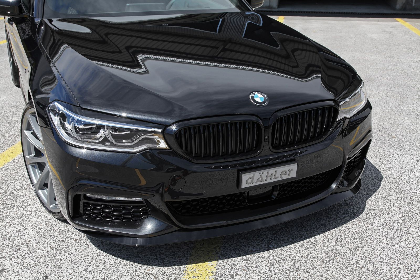 New Bmw 5 Series G31 Puts On A Dahler Sports Suit