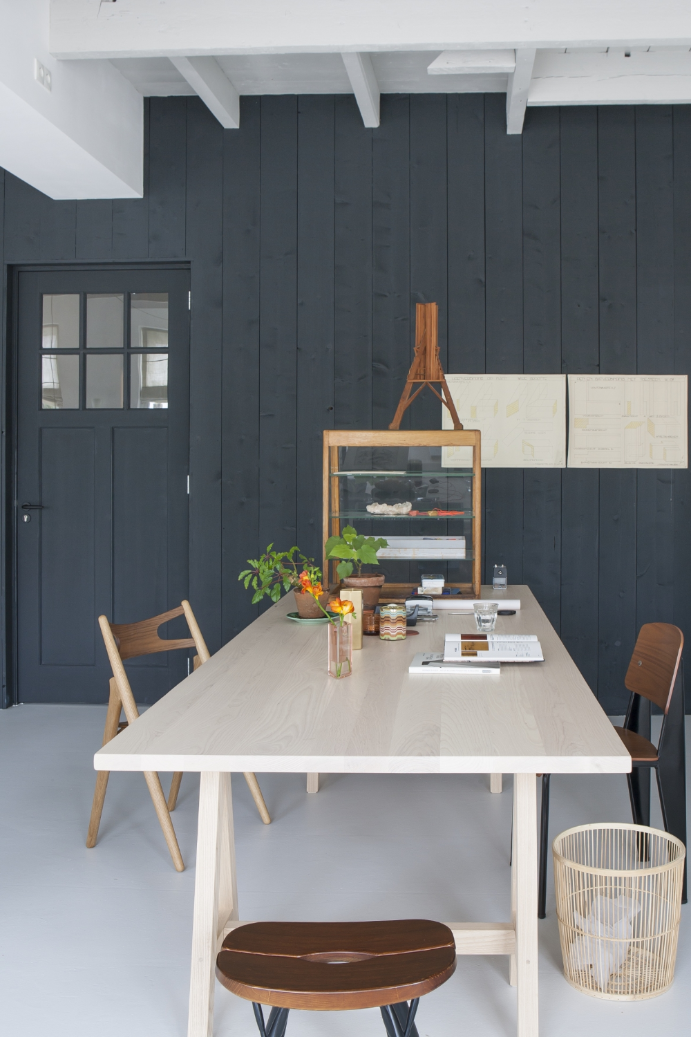 Kitchen Of The Week: The Curtained Kitchen, Dutch Modern
