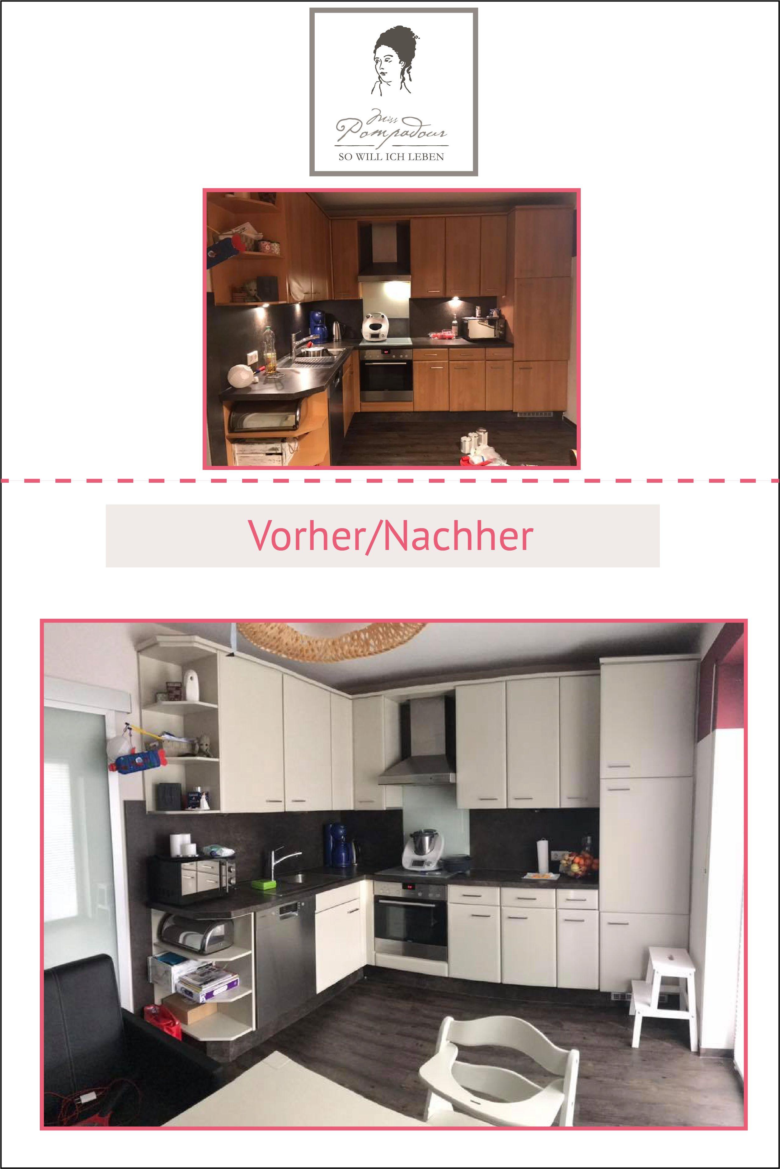 Küche Streichen Mit Kreidefarbe Und Kreidelacken Misspompadour Küchen Streichen Küchenumbau Kreidefarbe