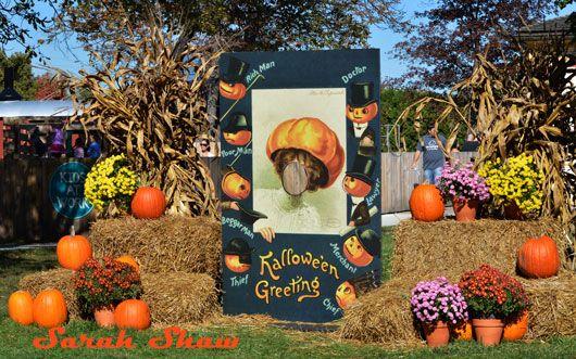 Halloween Photo Backdrop at Greenfield Village via WanderShopper ...