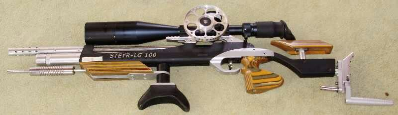 Steyr LG 100. This rig is set up for feild target. This one is a tack driver!