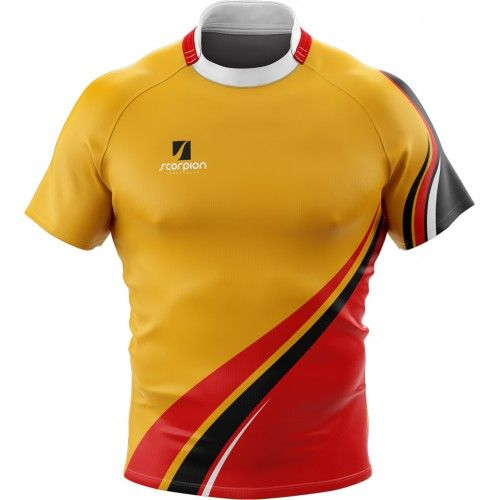 Rugby Shirts Designed In Your Own Pattern From Scorpion Sports Ideal For Schools Colleges And Rugby Clubs Uniformes Esportivos Esportes Uniforme