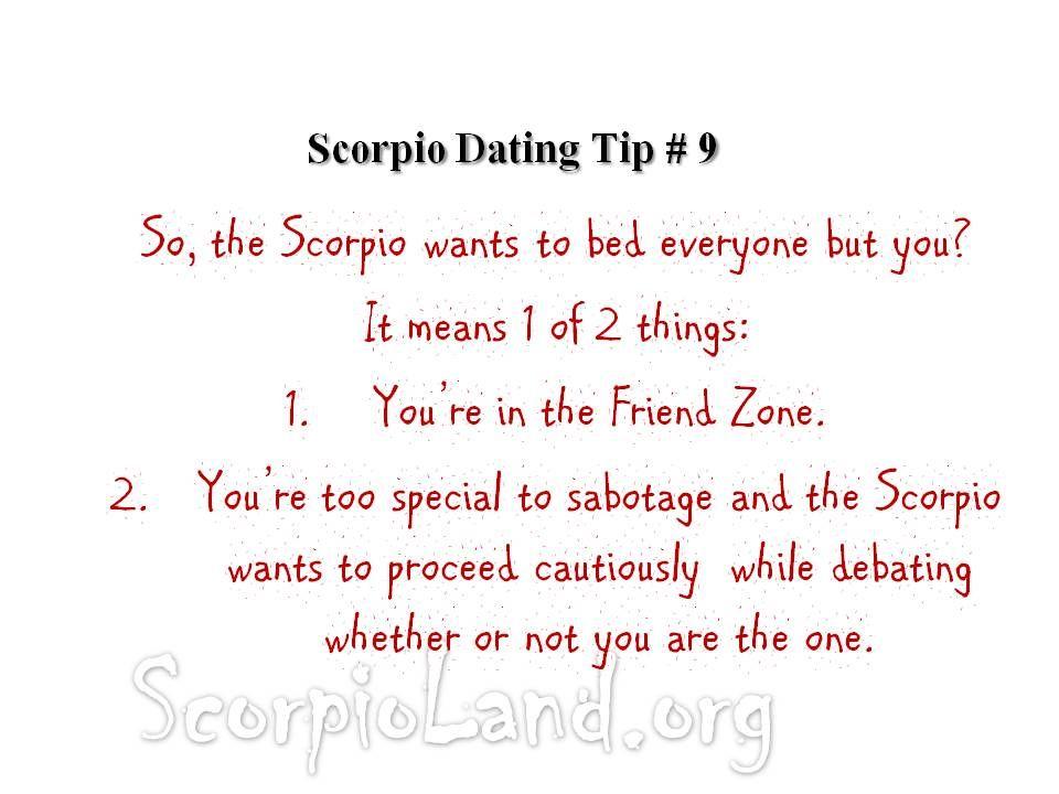 Scorpio Love Tips