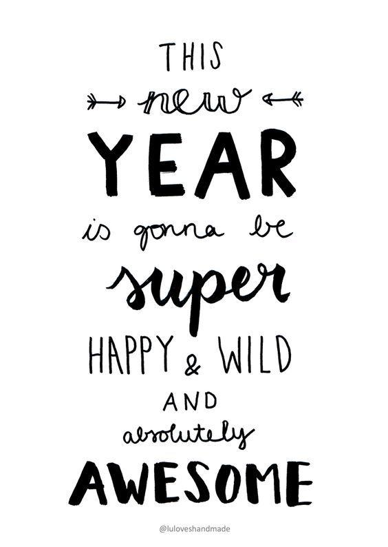 Luloveshandmade: Handlettering Printable: Happy New Year 2016