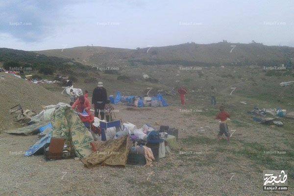 بالفيديو والصور.. هكذا هدمت سلطات #طنجة حيا صفيحيا وأخلته من سكانه tanja7.com/news-8972