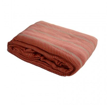 Perfect blanket for summers. Use cotton blankets instead of synthetic fleece blankets in your A.C. room, it will allow your skin to breath and will not block air like synthetic ones and you will get-up fresh.