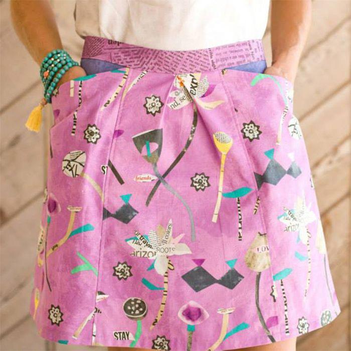 Alder skirt {for women} printed + digital pattern | Pinterest