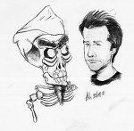 Achmed and Jeff-fa-fa (for you Peanuts fans!).  Love 'em both (but especially the smart one *wink*).