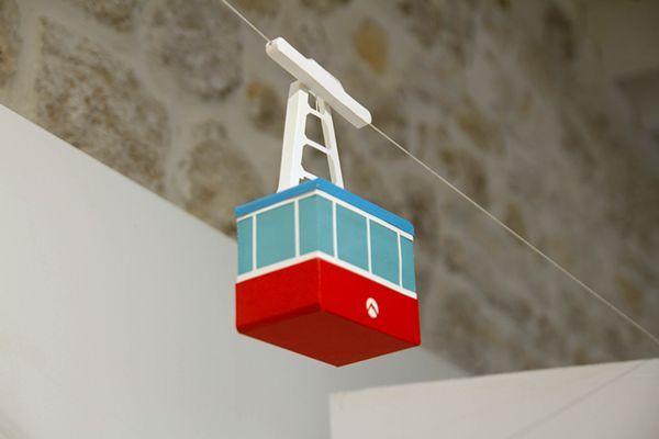 Papierspielzeug (Seilbahn) auf Toy Design Served – #auf #Design #Papierspielzeug…