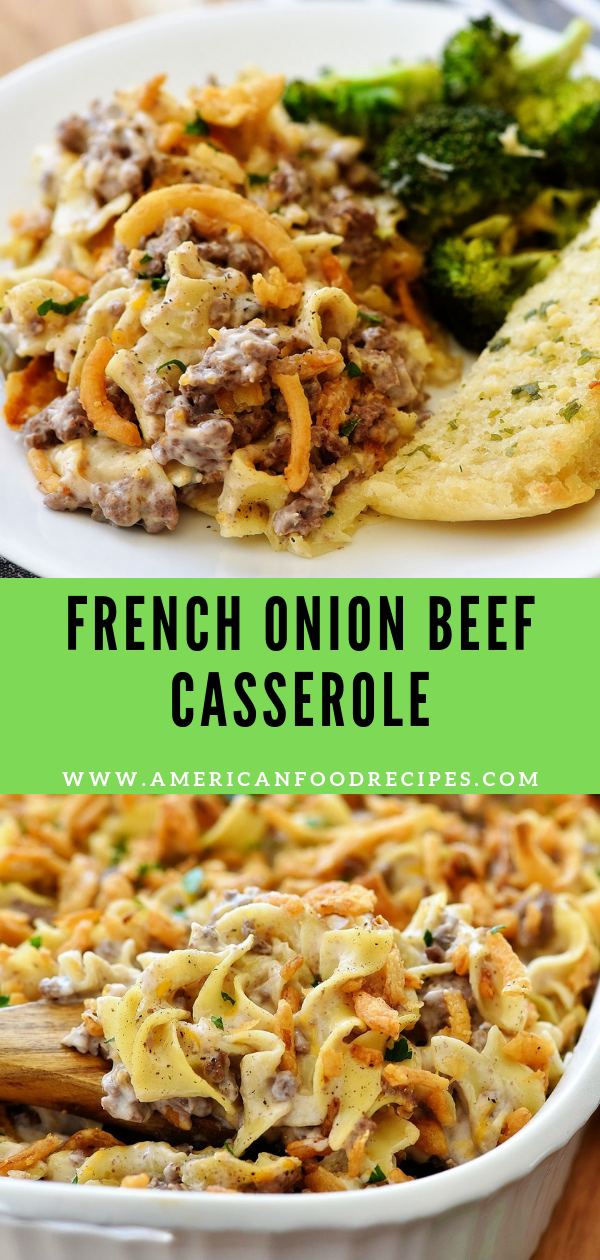 Photo of French Onion Beef Casserole