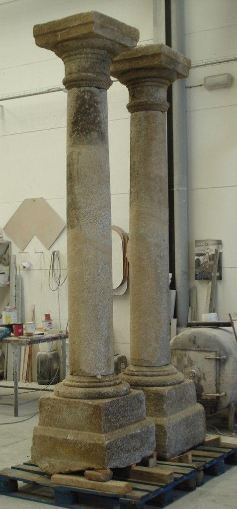 Columnas Antiguas De Granito Columnas De Piedra Columnas Pilares De Piedra