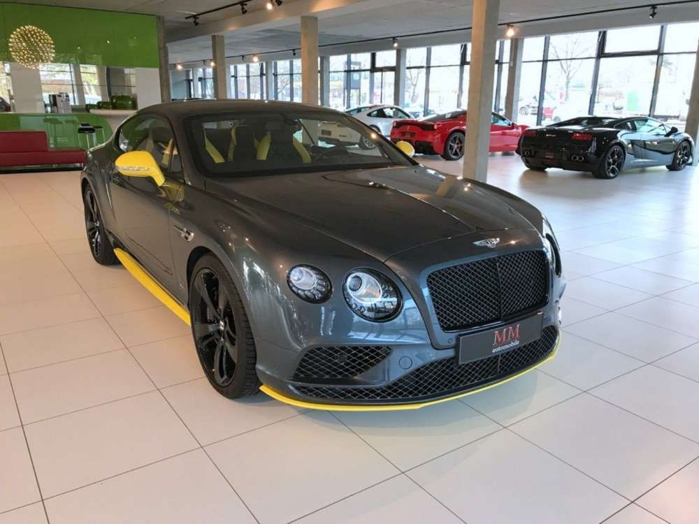 2016 Bentley Continental GT Speed BLACK EDITION - CERAMIC Tags ...