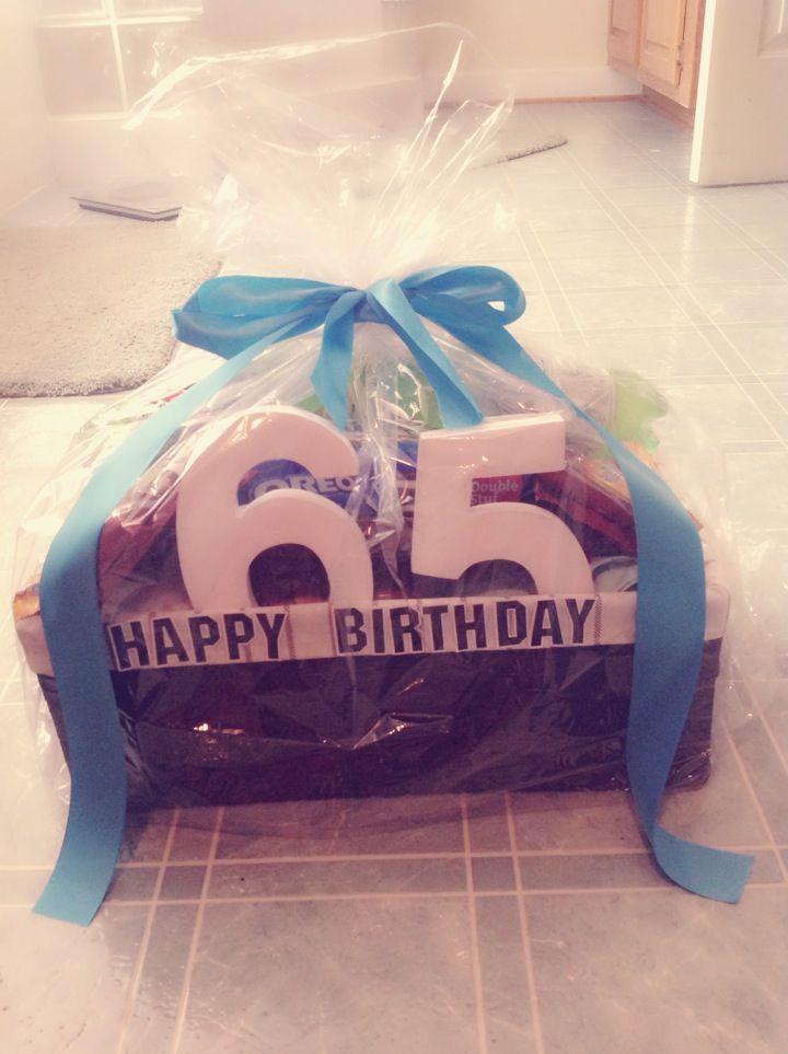 My Husband 65 Birthday Present