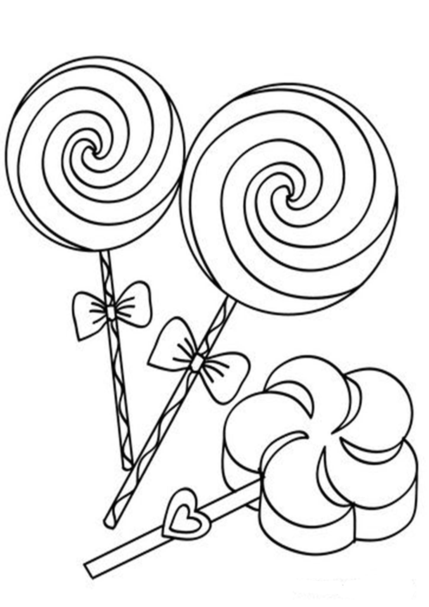 Free Easy To Print Candy Coloring Pages Candy Coloring Pages Birthday Coloring Pages Coloring Pages For Kids