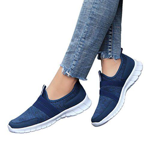 sports shoes fbdf6 56087 Baskets Unisexe Sneakers sans Lacets Femme Homme Chaussures Plates  Compensées Overdose Automne Hiver Casual Sportwear Tennis