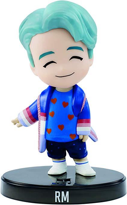 Amazon Com Mattel Bts Mini Idol Doll Rm Toys Games In 2020 Vinyl Figures Vinyl Dolls Boy Bands