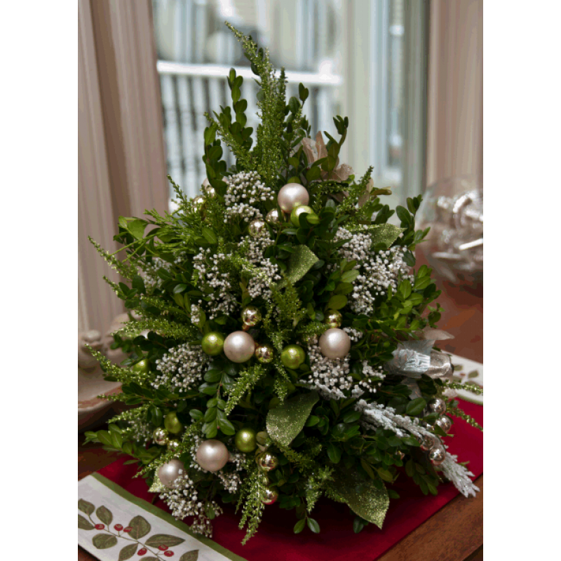 Victorian Christmas Boxwood Tree | Boxwoods! | Pinterest