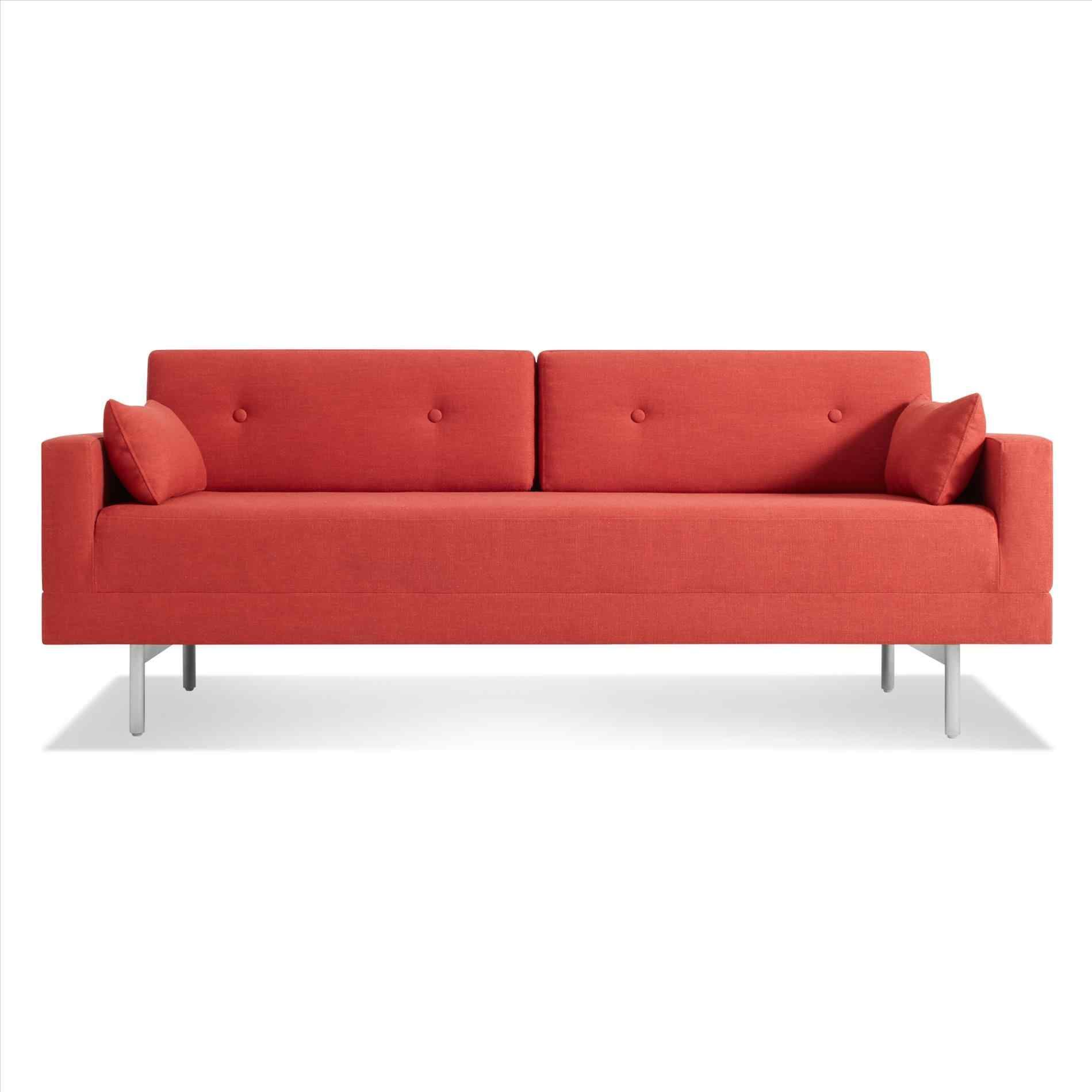 one blue dot sleeper sofa night stand modern queen blu mono single ...