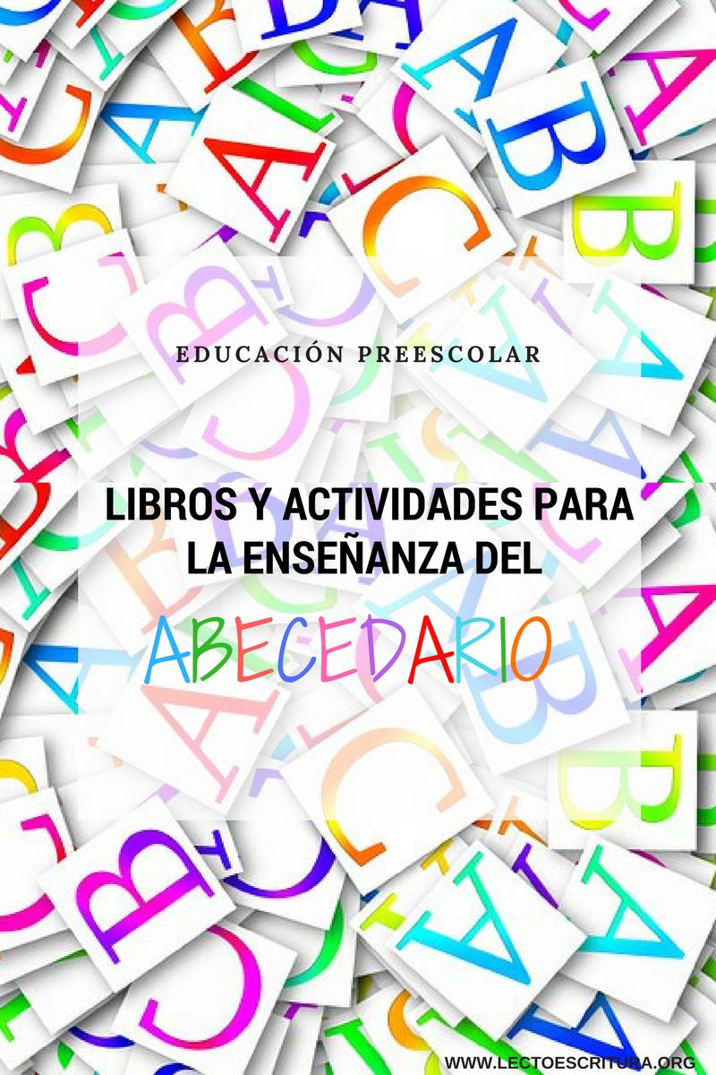 libros y actividades del abecedario para niños de preescolar