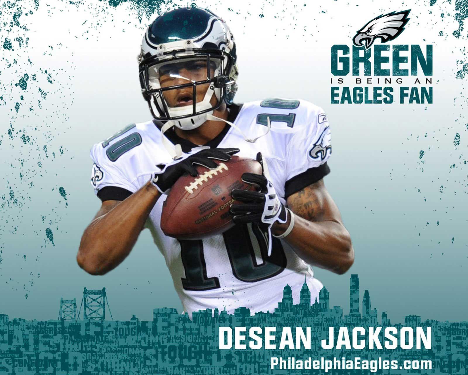Go Green Desean Jackson Philadelphia Eagles Nfl Philadelphia Eagles