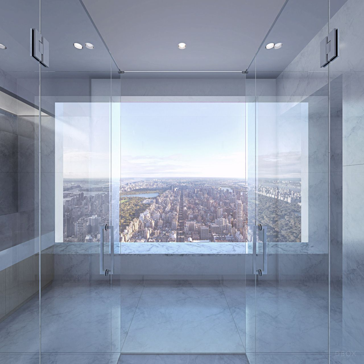 432 park avenue rendering by dbox visualizations pinterest