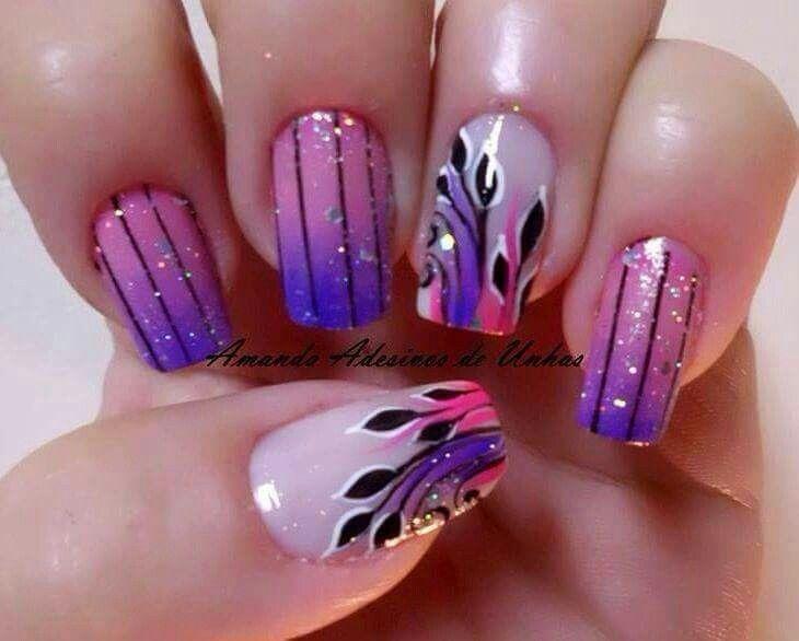P I N T E R E S T Jamaicamayy Lilac Nails Purple Gel Nails Purple Nail Art