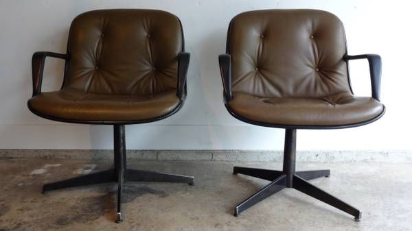 Cool Craigslist Mid Century Leather Steelcase Chairs Vintage Cjindustries Chair Design For Home Cjindustriesco