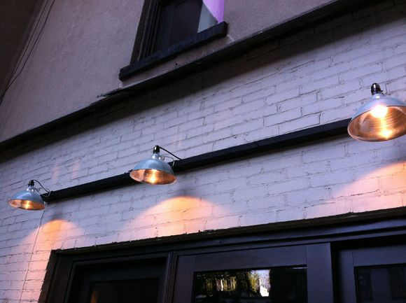 Simple Exterior Lighting Using Inexpensive Outdoor Clamp Lights