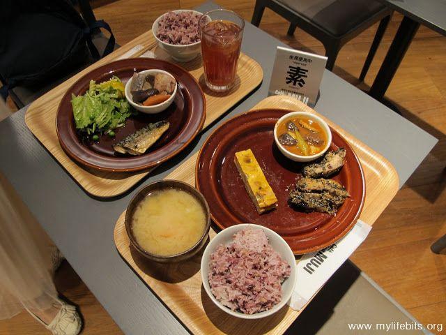「對了,去上海吧!」Yes,Go Shanghai!「好了,回台灣吧!」: 我終於也去吃了MUJI餐廳:因為飯的份量太少!所以配菜吃起來剛剛好!無印「質素之食」好養生?Café&Meal MUJI