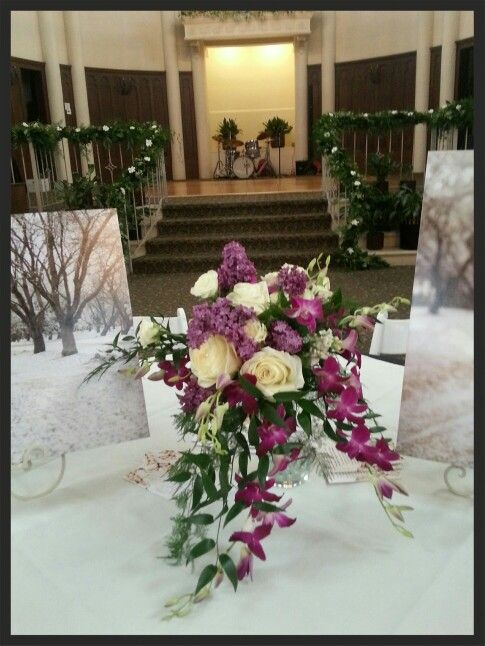 Marvelous Beautiful Cascading Nouquet Of Orchids, Roses, Gardenias And Stephonotis Log  Cabin Florist Bakersfield Ca