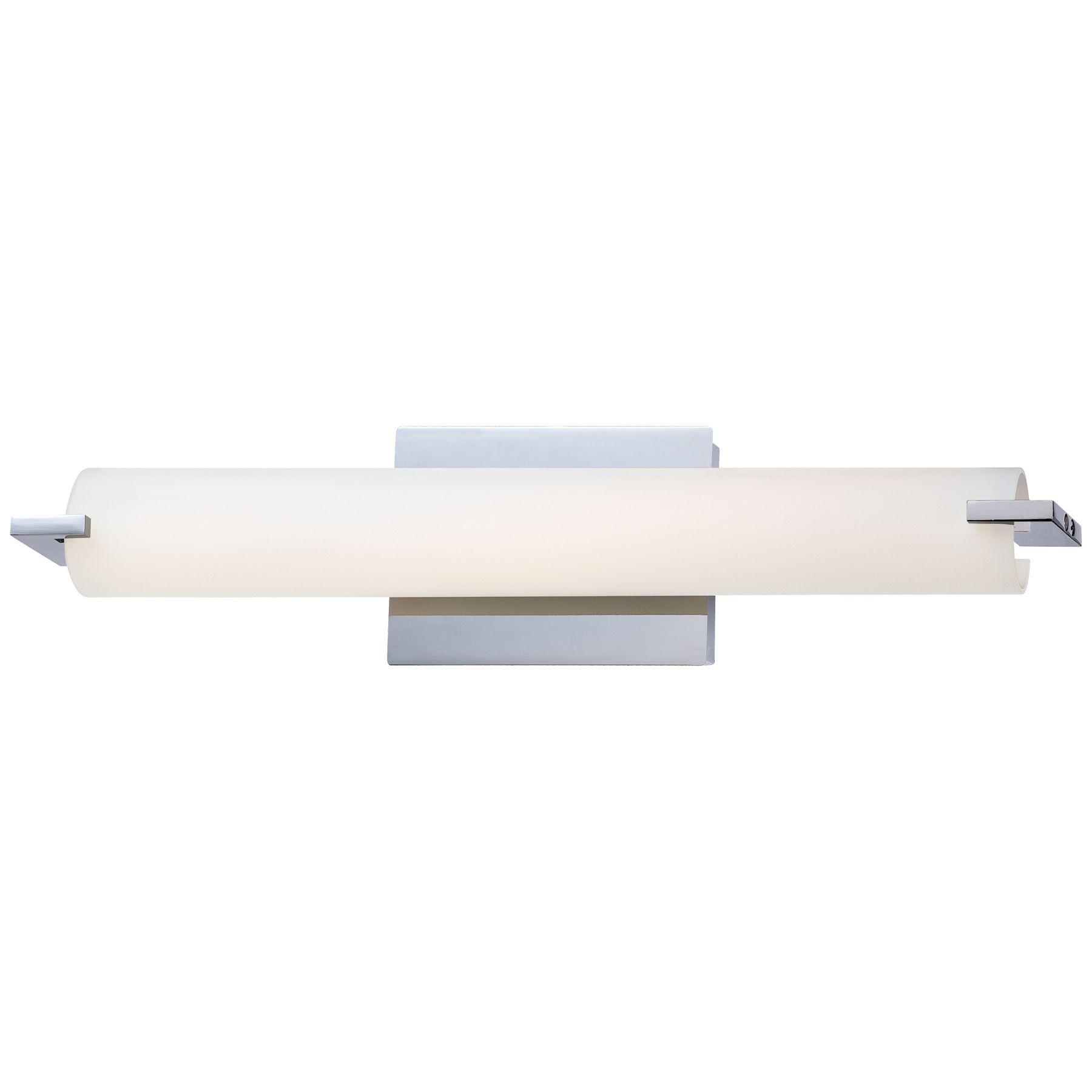 Tube Bathroom Vanity Light By George Kovacs P5044 077 L Led Bathroom Lights Bathroom Light Bar Bath Light