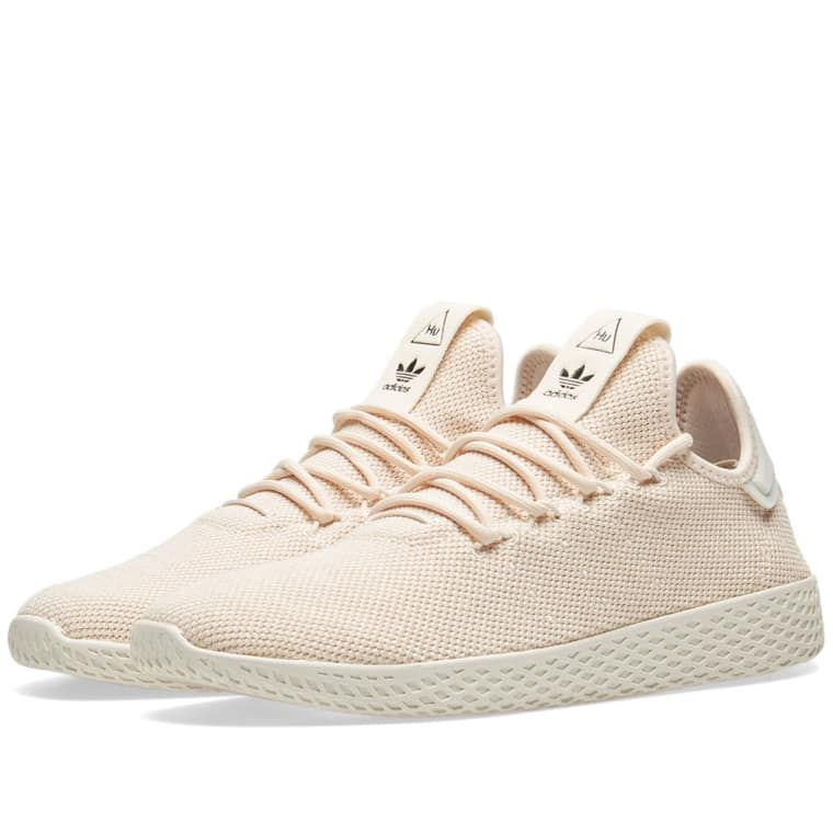 Mens Adidas Pw Tennis Trainers Linen Chalk White Trainers Shoes