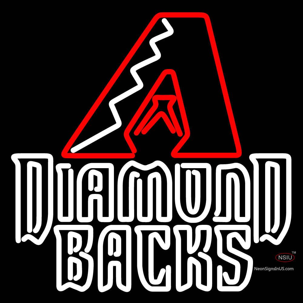 Arizona Diamondbacks 7 Logo MLB Real Neon Glass Tube Neon Sign,Affordable and durable,Made in USA,if you want to get it ,please click the visit button or go to my website,you can get everything neon from us. based in CA USA, free shipping and 1 year warranty , 24/7 service