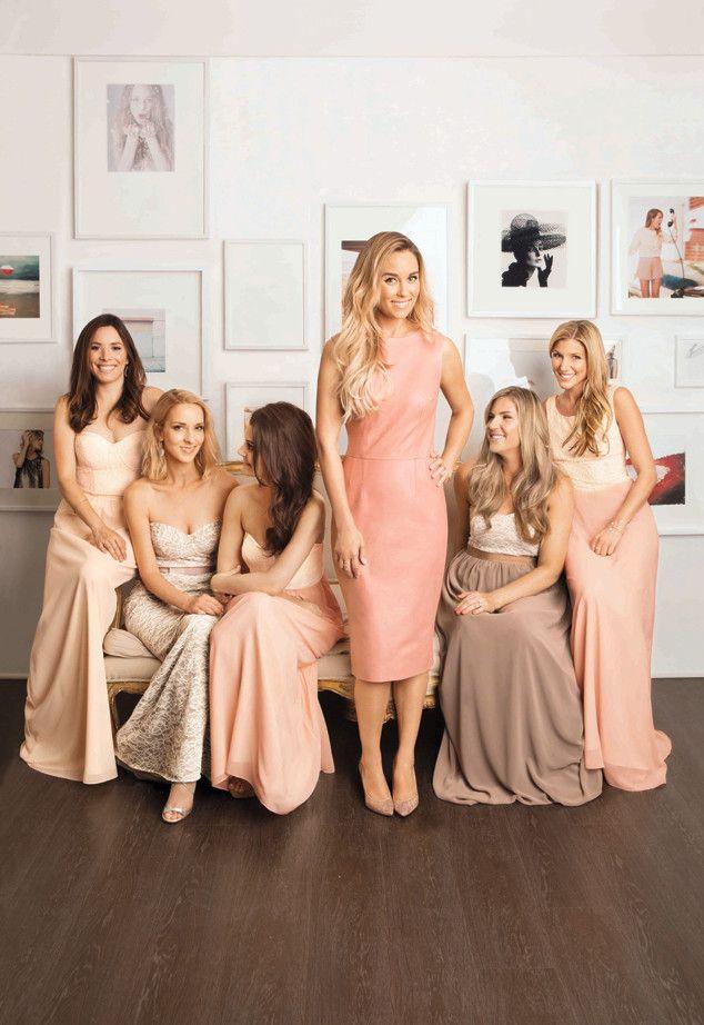 See The Bridesmaids Dresses Lauren Conrad Designed For Her Wedding Lauren Conrad Wedding Bridesmaid Dress Collection Bridesmaid Dresses