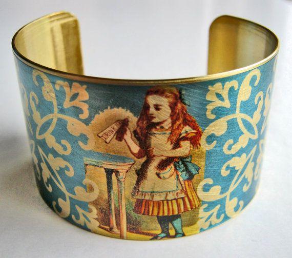 Alice in Wonderland Cuff