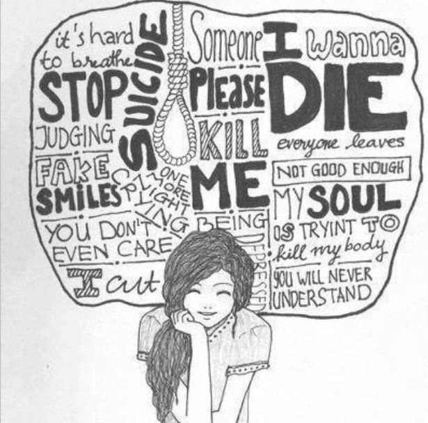 Emo Quotes About Suicide: Sad,death,depressed,hurt,hate,harm,art,girl