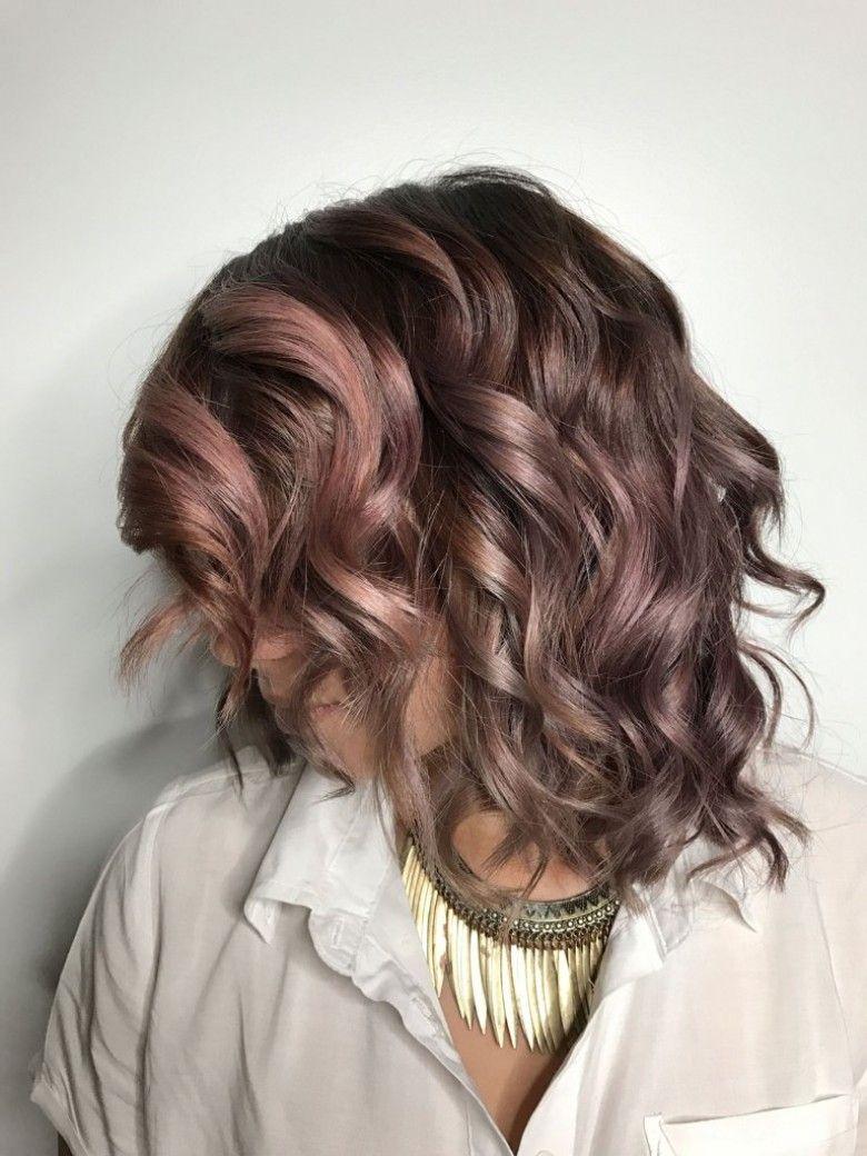 ver 1 000 bilder om balayage chocolate mauve p pinterestmrkbrun hjdpunkter och balayage - Coloration Mauve