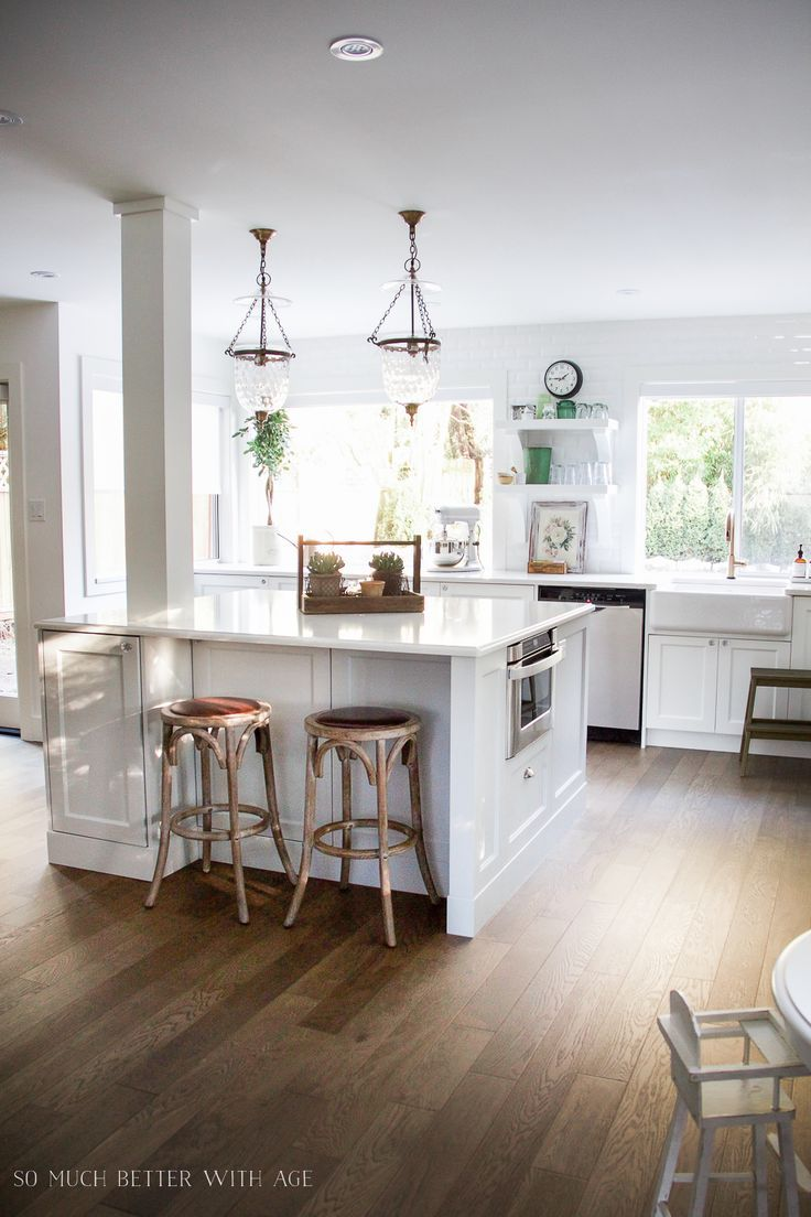 my big, beautiful kitchen renovation - before and after photos